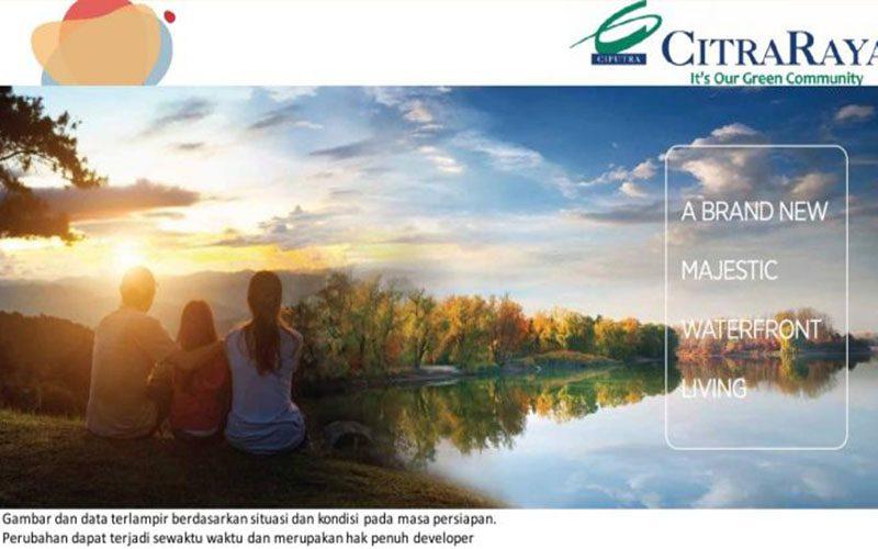 Cluster Carona park di Kawasan Lugano Lake Park seluas 200 Hektar