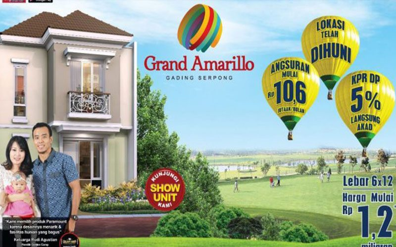 Grand Amarillo From Paramount Serpong