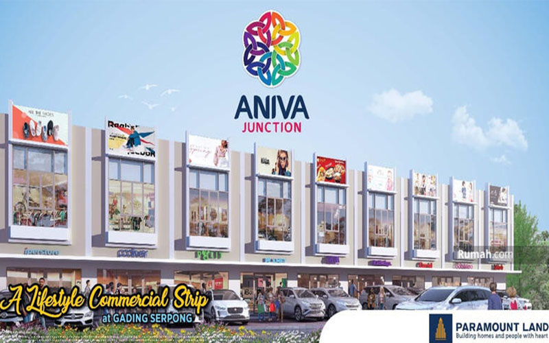 Launching Ruko Aniva Junction Gading Serpong