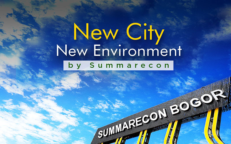 Launching Summarecon kavling & rumah murah Bogor