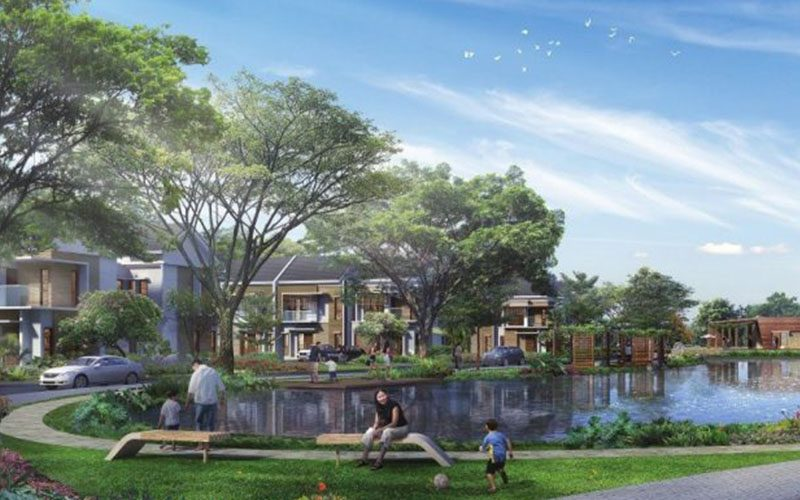 Olive Residence, Cluster View Danau Di The Orchard Summarecon Bekasi