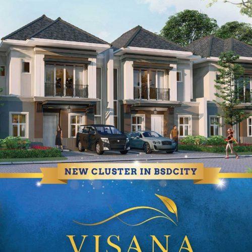 galeri 1 Visana Cluster Terbaru The Savia BSD City Mulai 1,1 M