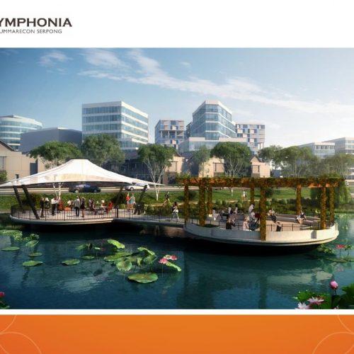 galeri 3 Cluster Rossini di pinggir danau Kawasan terbaru Symphonia