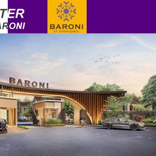 lokasi 4 Baroni At Symphonia, Cluster Terakhir Summarecon Serpong 2020
