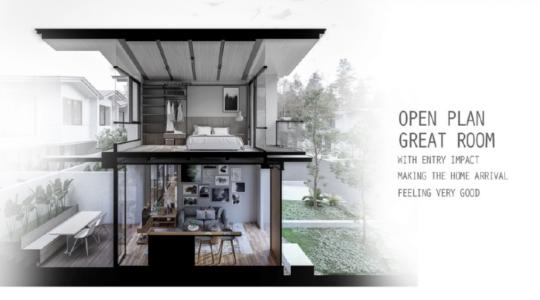 Open Plan Great Room
