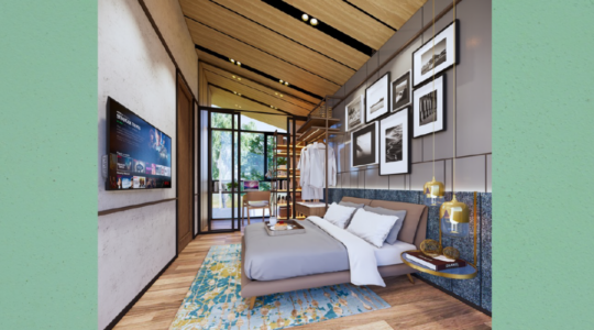 Type 1 Corner - Parc Villa - Bedroom