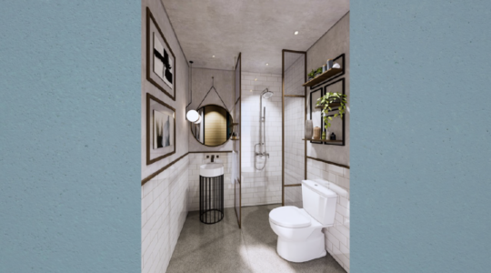 Type 2 Corner - Parc Residence - Bathroom