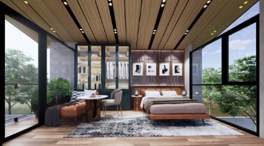 Type 2 Corner - Parc Residence - Bedroom