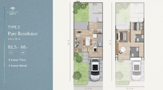 Type 2 - Parc Residence - Layout