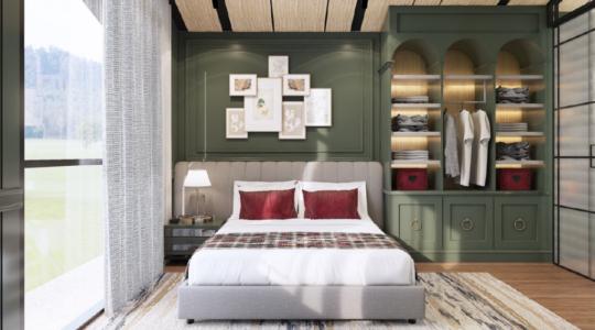 Type 3 Corner - Parc Sanctuary - Bedroom