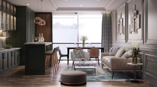 Type 3 Corner - Parc Sanctuary - Living Room and Kitchen